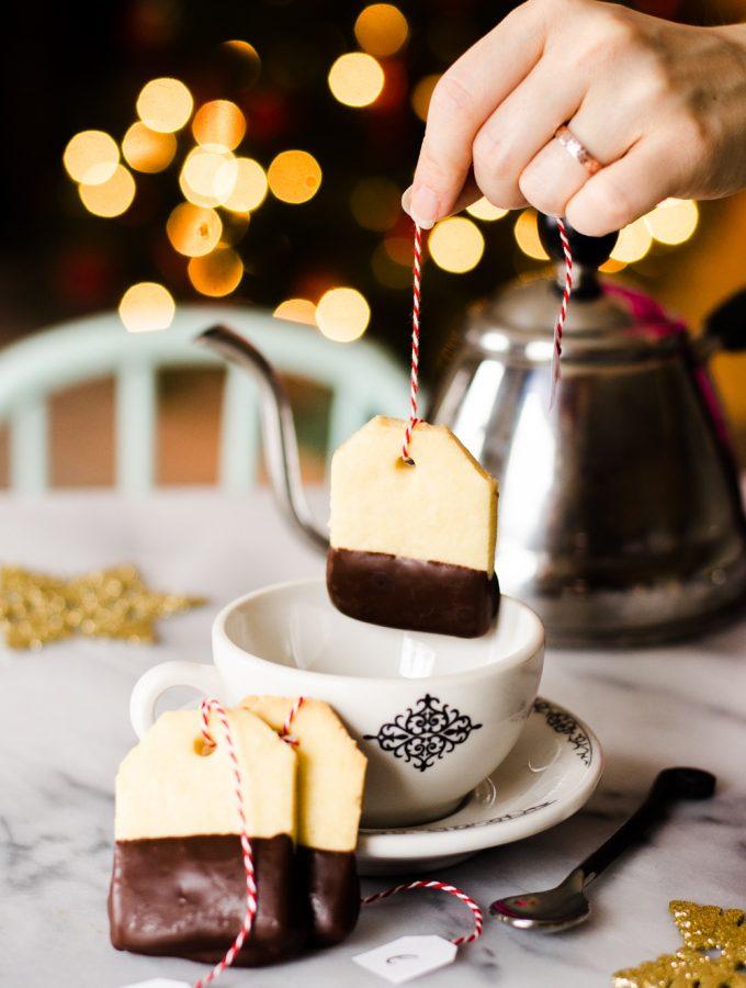 Teabag Shortbread Cookies + A Tea Party & Surprise for Helen