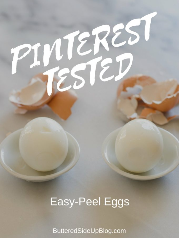 Pinterest Tested: Easy Peel Eggs