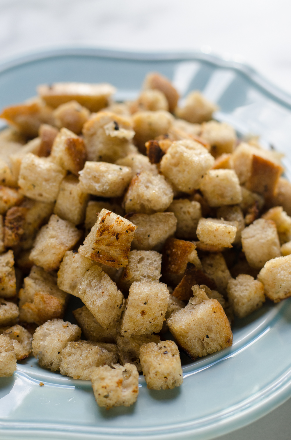 How to Make Croutons Over the Stove