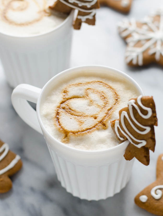 Gingerbread Latte + Life Lately