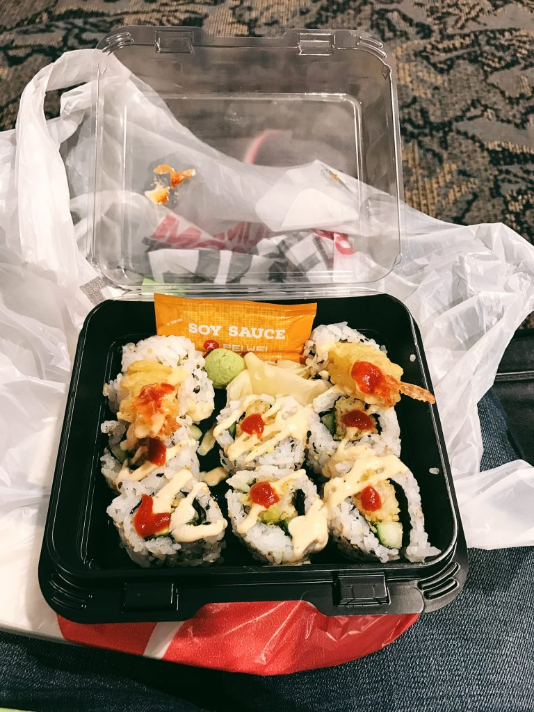 Our Florida Trip - Airport Food