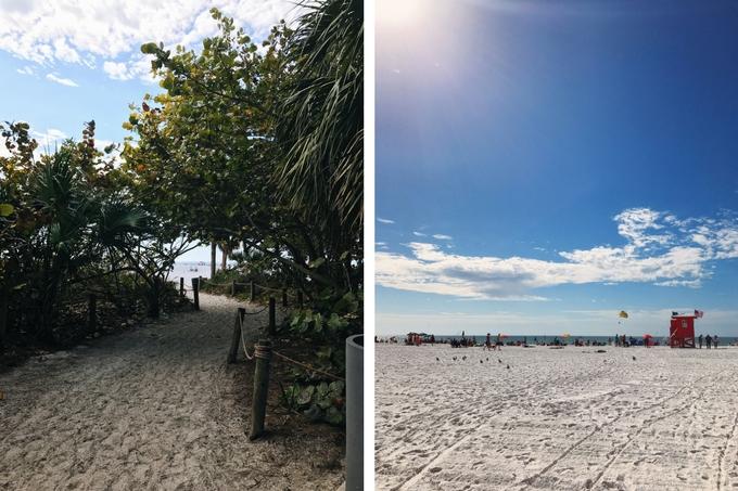 Our Florida Trip - Siesta Key Beach