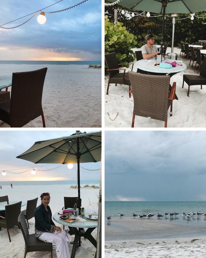 Our Florida Trip: The Sandbar Restaurant on Anna Maria Island