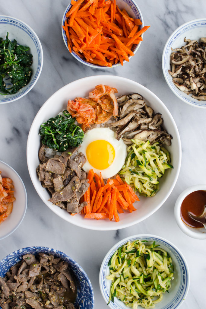 Bibimbap (비빔밥) - Korean Mixed Rice
