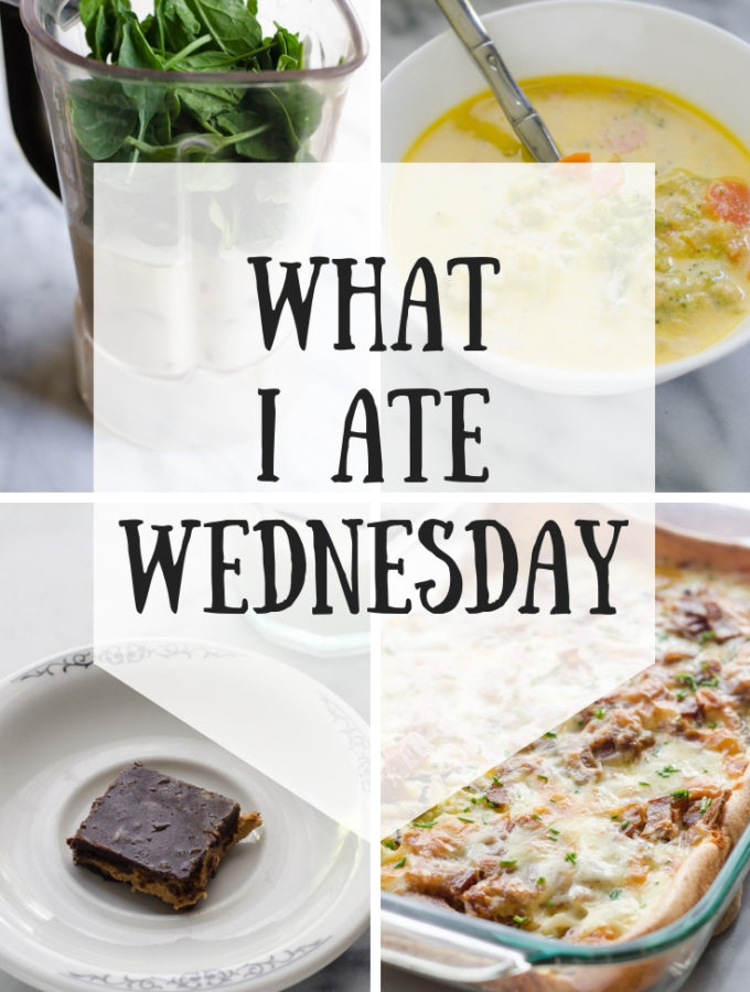What I Ate Wednesday While Pregnant! (9-5-2018)