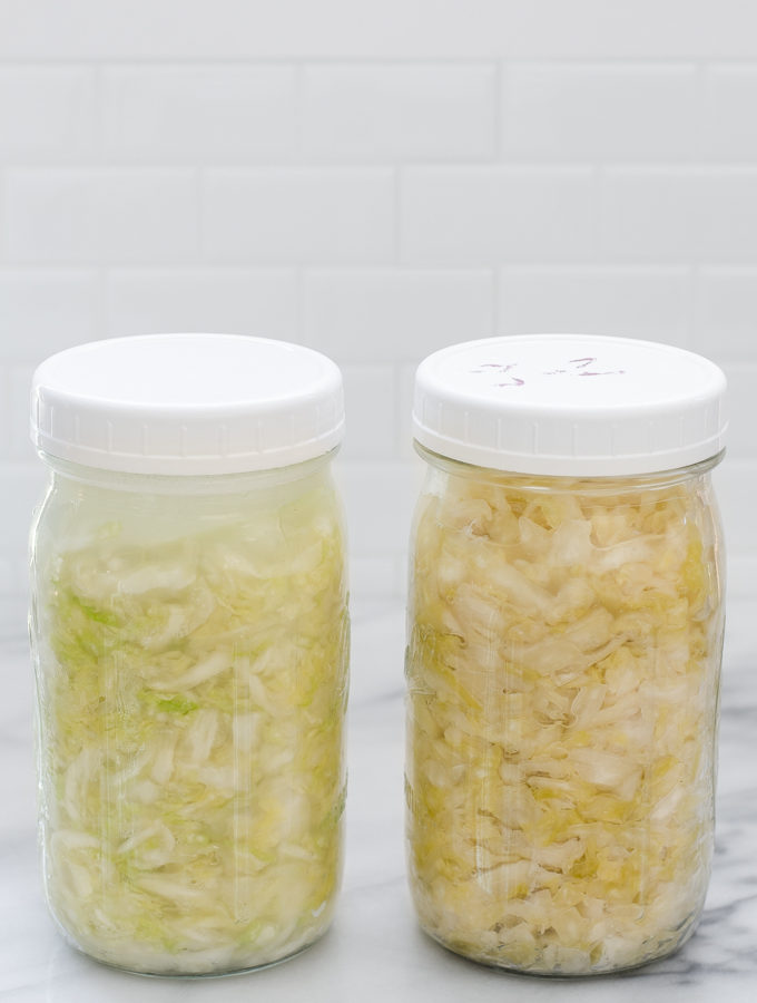 How to Make Sauerkraut + Life Lately