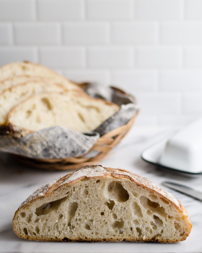 How to Make Artisan Sourdough Bread At Home #sourdough #wildyeast #bread #healthy #butteredsideup