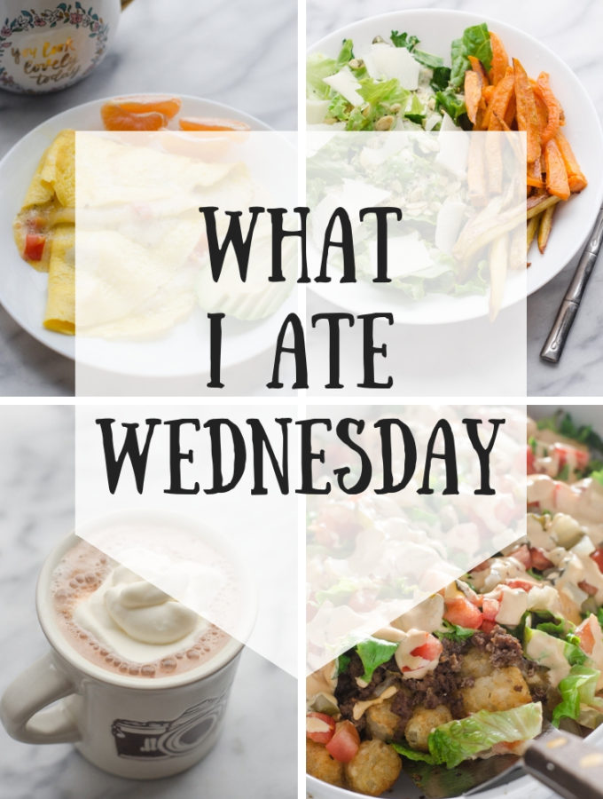 What I Ate Wednesday – First Day of Sugar Free January! (1/2/2019)