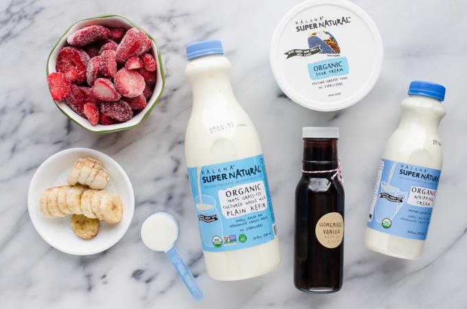 3 Healthy Kefir Smoothie Recipes