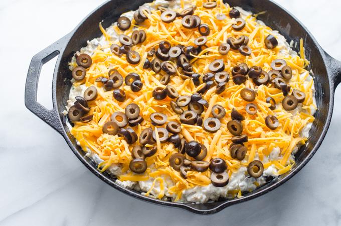 Sour Cream Chicken Enchilada Skillet