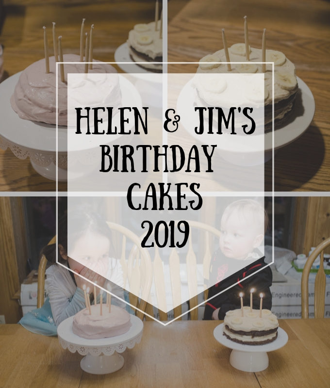 Helen & Jim's Birthday Cake 2019