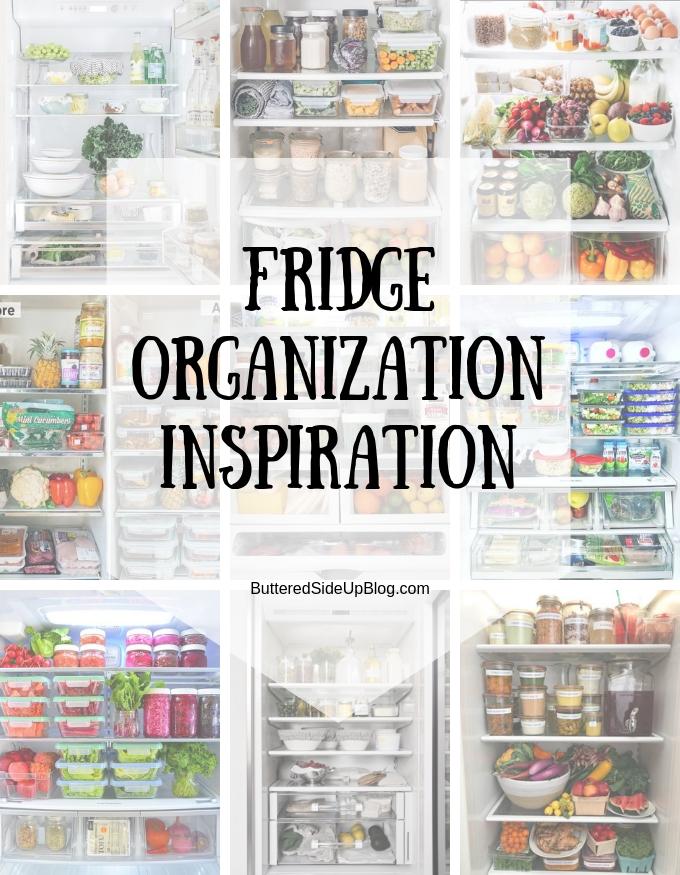 Fridge Organization Inspiration