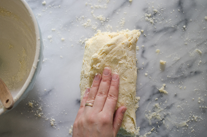 Folding the dough, part 2