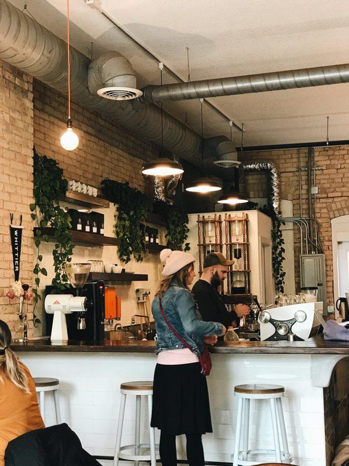 Wesley Andrews Coffee Shop Minneapolis