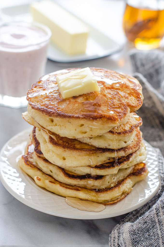 The Best Sourdough Pancakes