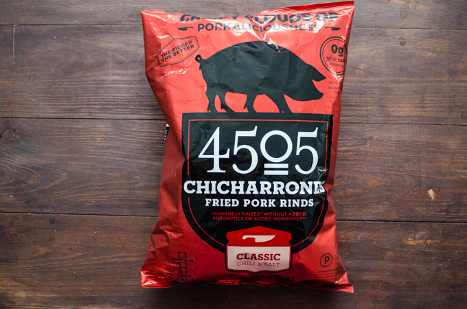 4505 Chicharrones (pork rinds) from Costco.