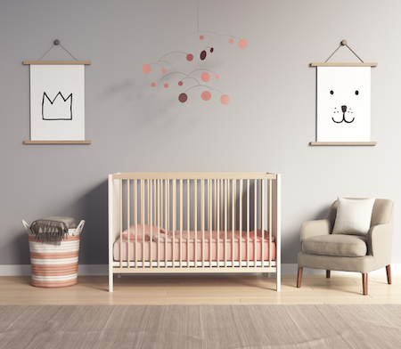 Move Over Pink and Blue: Neutral Colors for Baby's Room