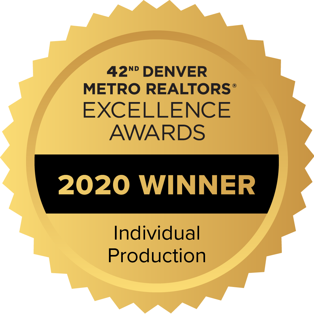 42nd Denver Metro Realtors Excellence Awards, 2020 Winner