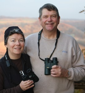Birding Pro-Staffers, Marion and Rich Patterson