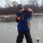 Ice Fishing success!
