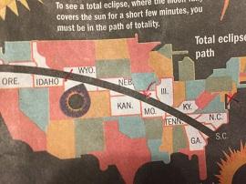 Map Eclipse Path