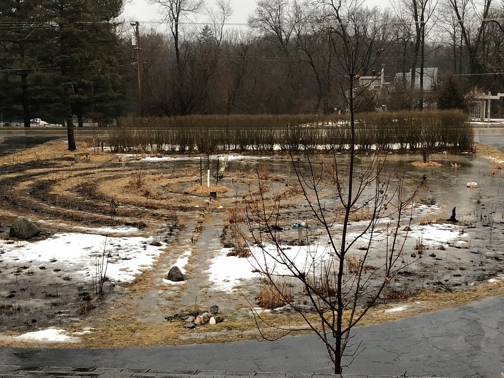 Flooded labyrinth