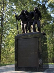 Statue of soldiers