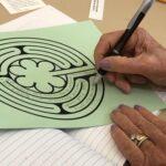 a finger labyrinth