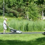 Equipment to mow.