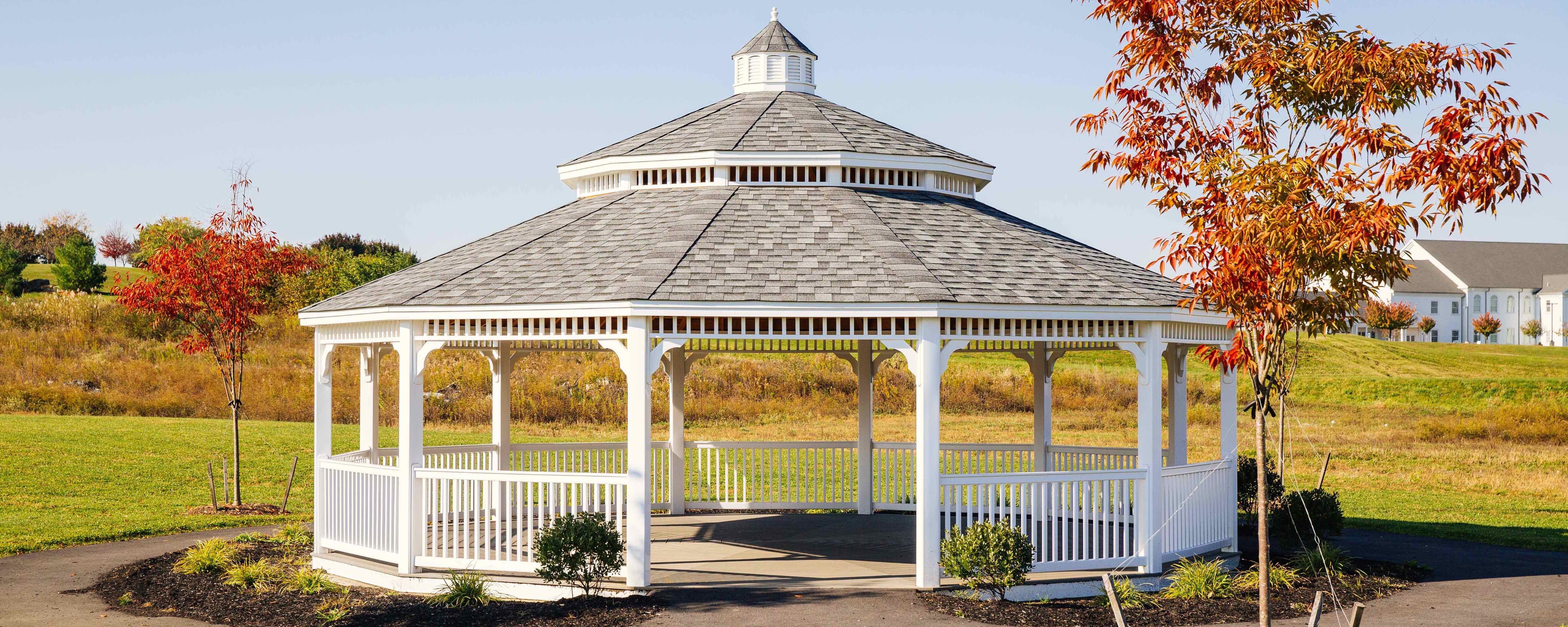 30 Foot Dodecagon Gazebo