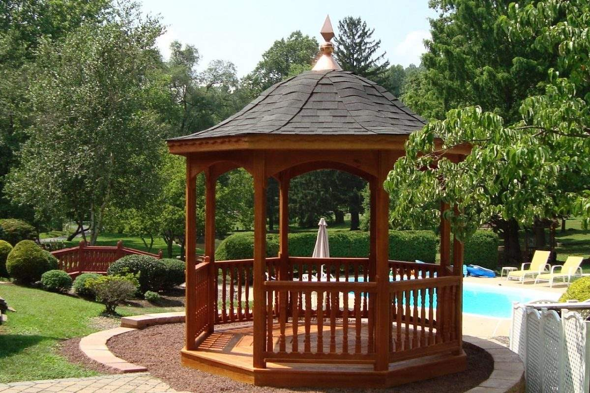 Octagon Belle Roof Gazebo