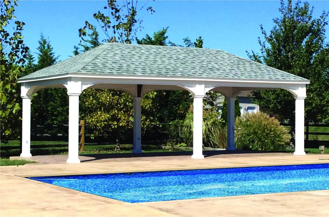 Traditional Vinyl Pavilion