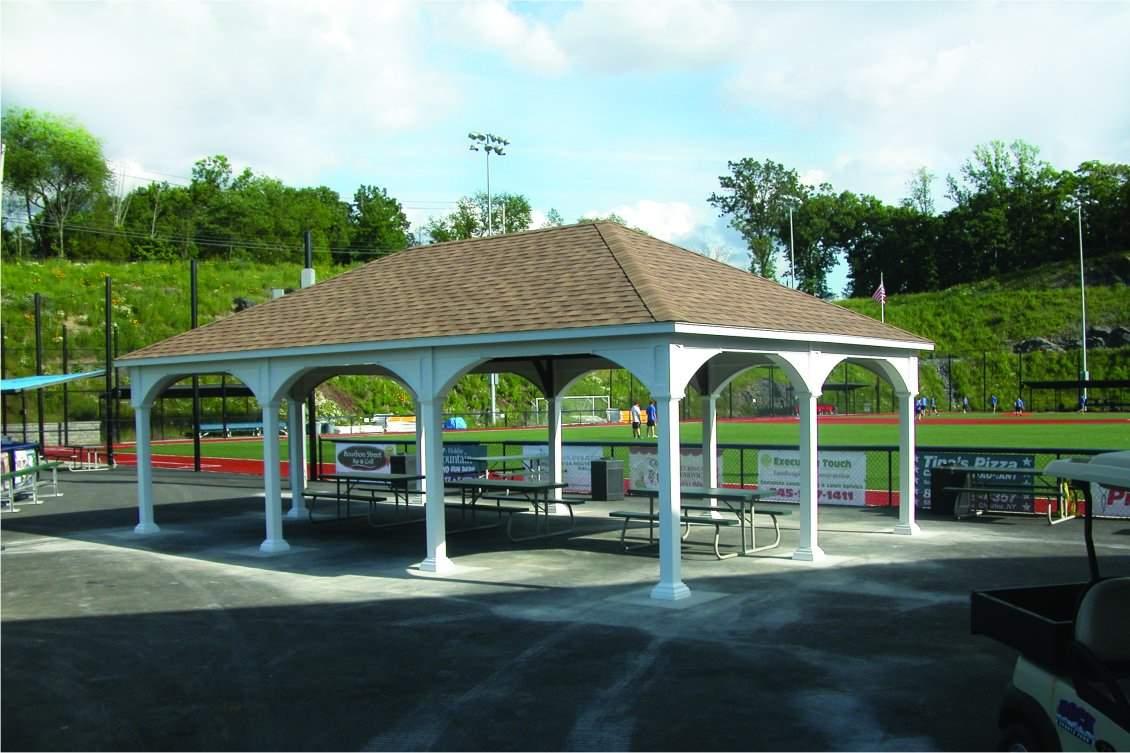 Large Vinyl Pavilion