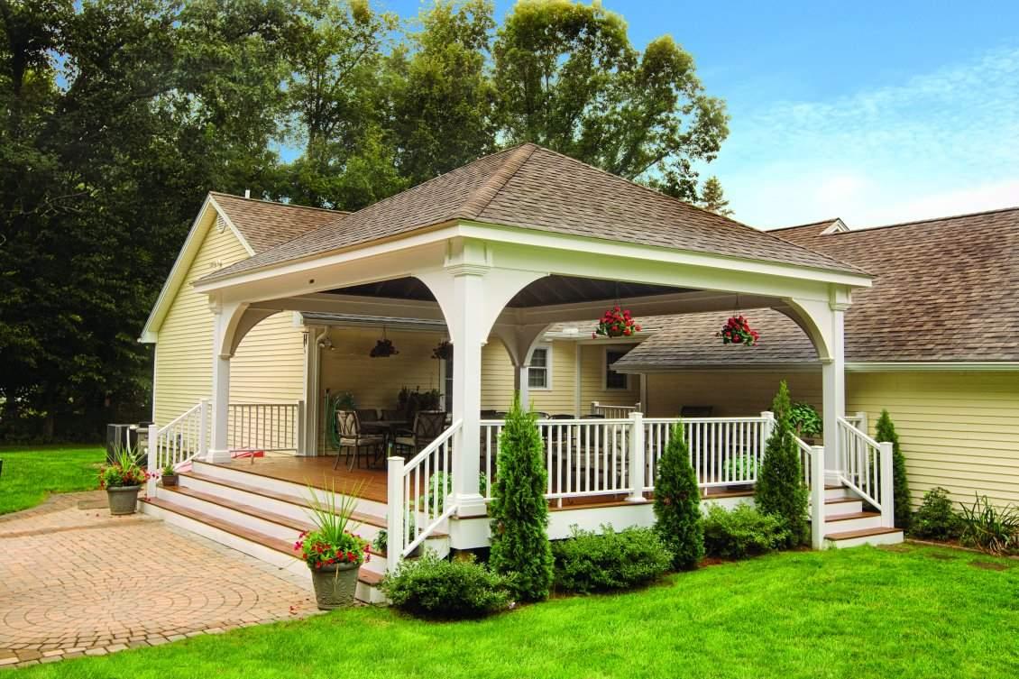 Grand Estate Vinyl Pavilion