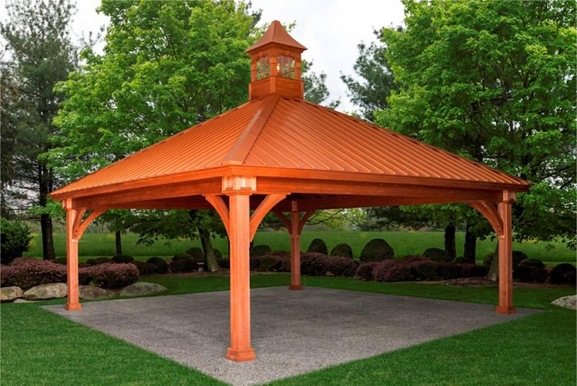 Wood Grand Estate Pavilion