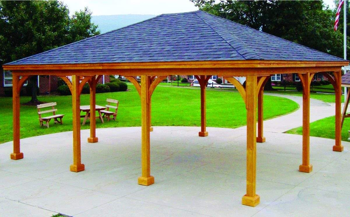 Large Wood Pavilion