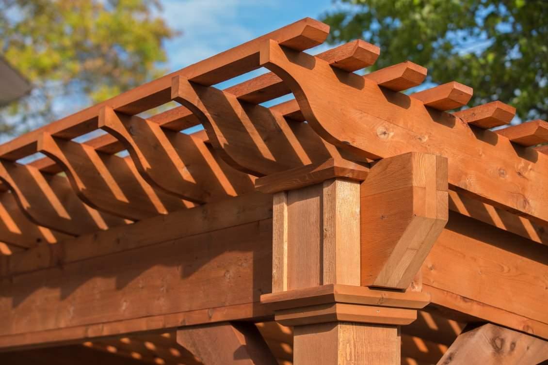 Santa Fe Cedar Pergola Details