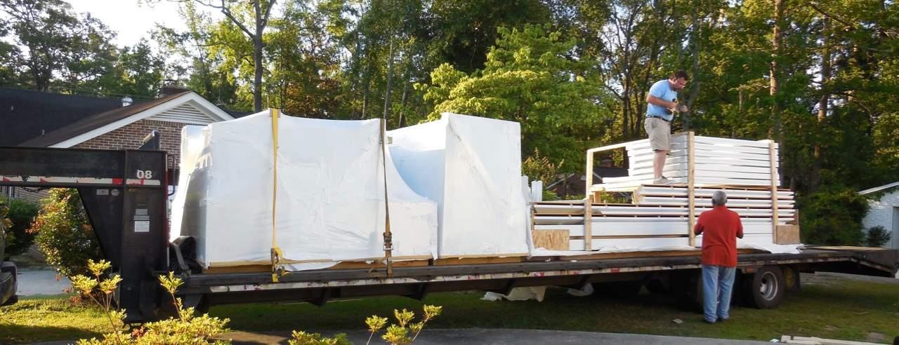 Pavilion Kit Delivery