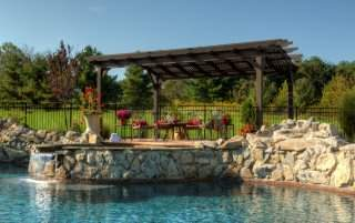 Hearthside Wood Pergola