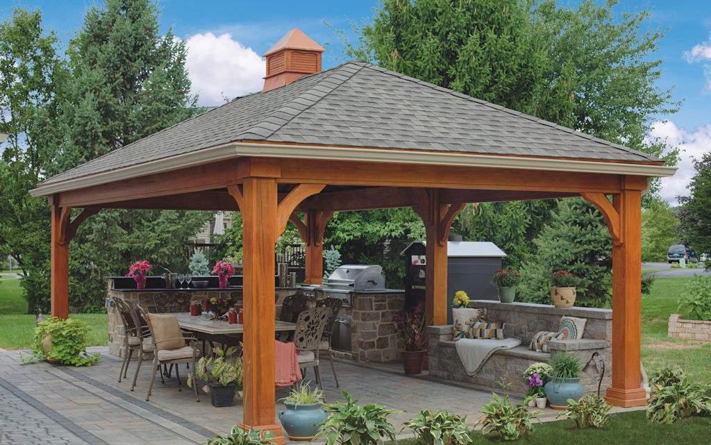 Custom Wood Pavilion