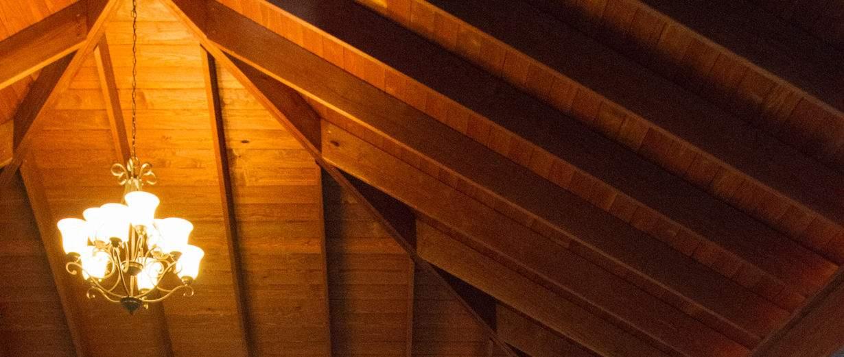 Grand Estate Wood Pvilion Ceiling