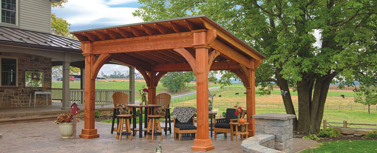 Santa Fe Cedar Pavilion