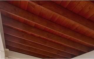 Santa Fe Cedar Pergola Ceiling