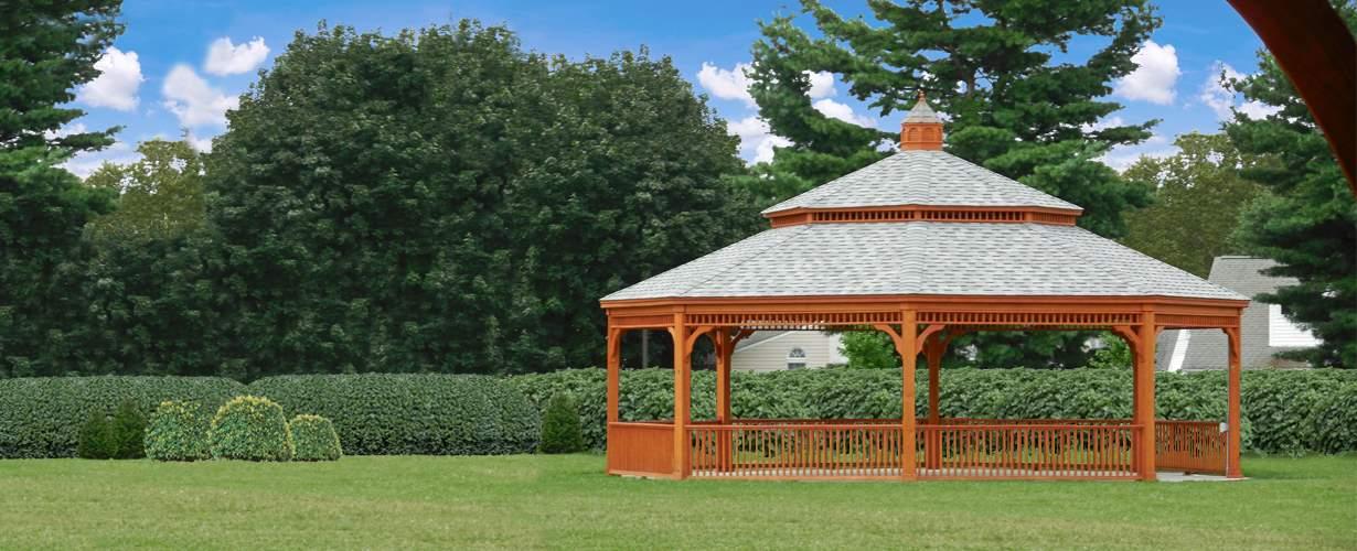 32' Wood Gazebo, double roof Tullytown Pa