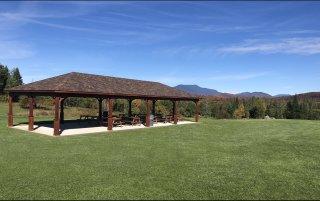 35x60 Wood Pavilion Necomb NY