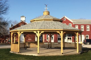 30' Wood Freeburg IL Gazebo