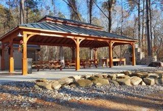 Commercial Wood Pavilion