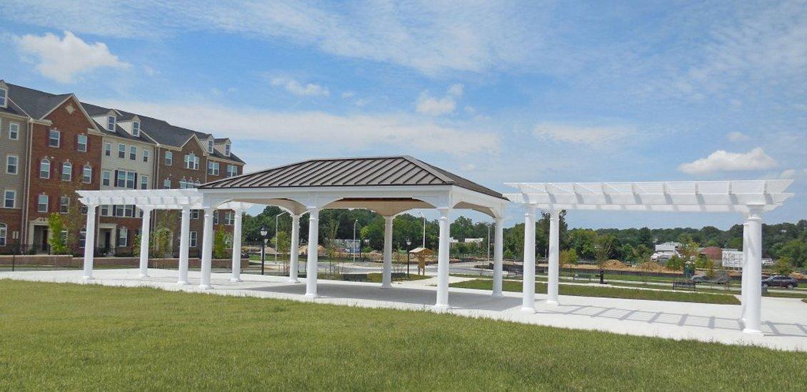 College Park Pavilion & Pergolas
