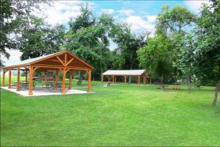 20' x 40' Custom Wood Pavilion