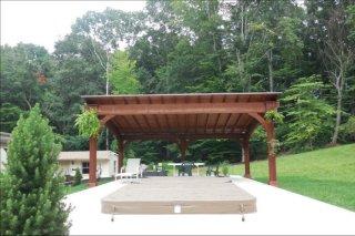 14' x 16' Santa Fe Wood Pavilion